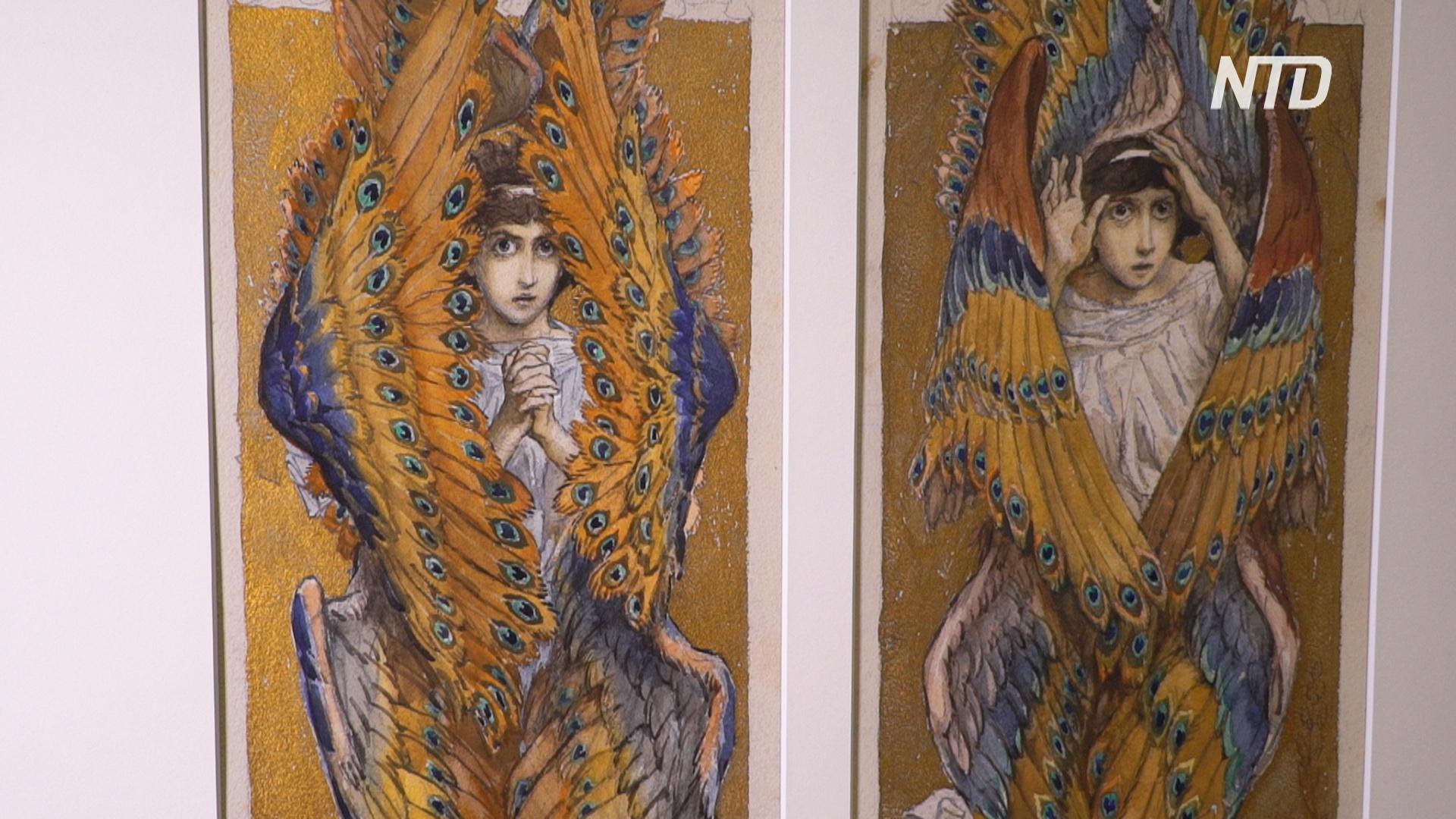 Графика Репина, Серова и Васнецова на экспозиции в Третьяковской галерее