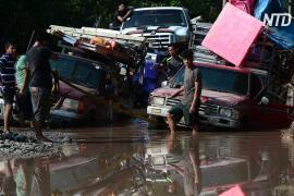 Ураган «Йота» почти полностью уничтожил инфраструктуру колумбийского острова