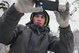 Сибирский студент забирается на берёзу, чтобы обучаться онлайн