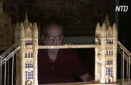 Искусство из спичек: египтянин создаёт копии архитектурных шедевров