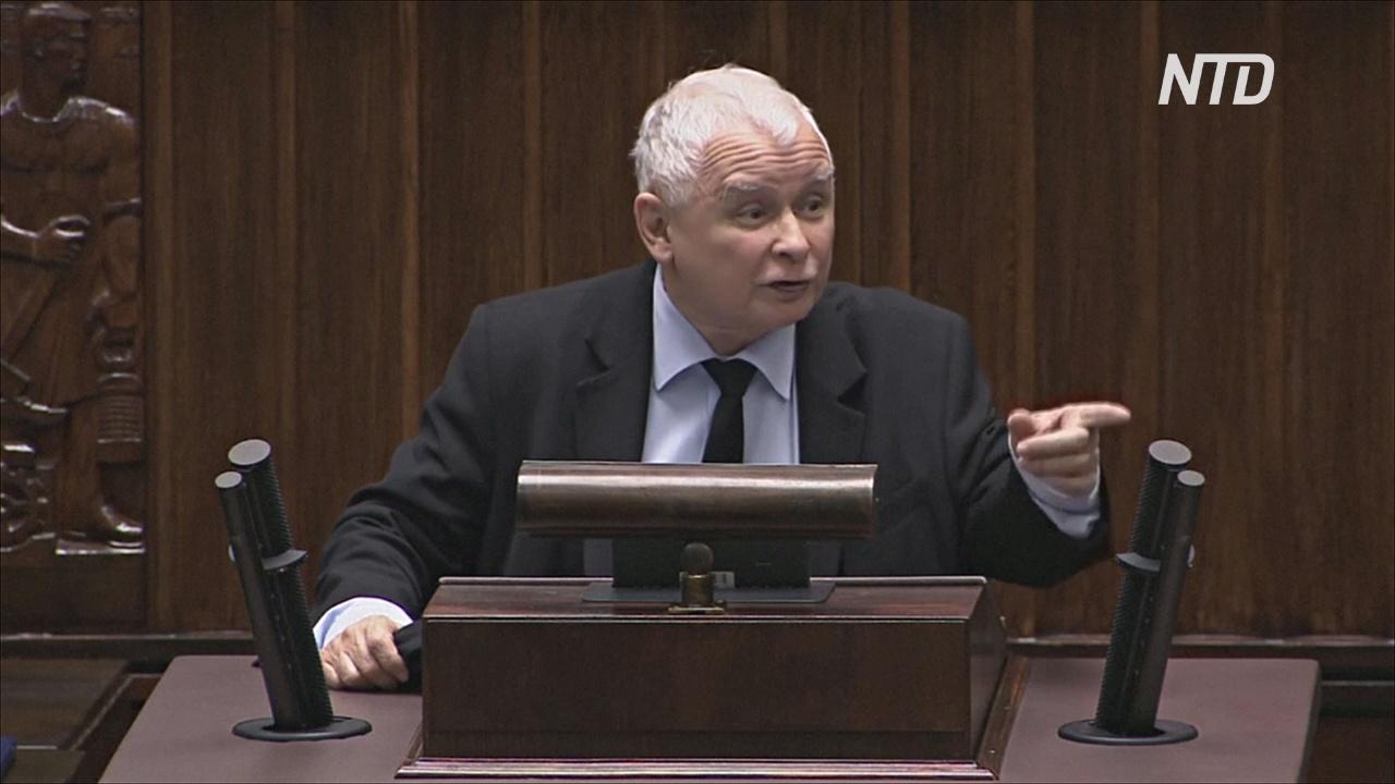 Качиньский обвинил оппозицию в поддержке протестов: «На ваших руках их кровь»