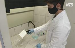 В Бразилии создали спрей, убивающий коронавирус