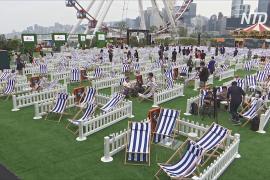 В Гонконге открылся парк развлечений, приспособленный к соцдистанцированию