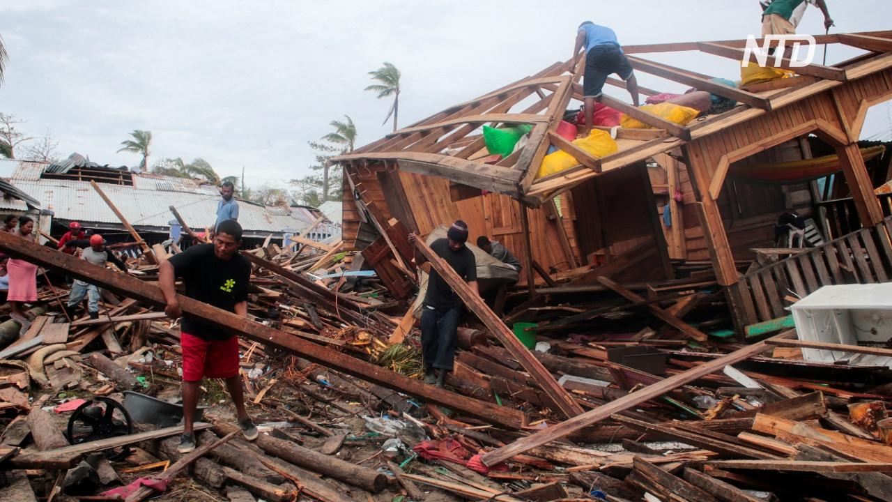 Число жертв урагана «Йота» возросло до 40