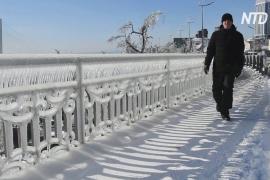 Владивосток после ледяного дождя: ряд районов остаётся без света