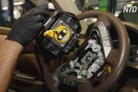 Небезопасные подушки безопасности: GM отзовёт 6 млн автомобилей