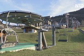 Открытие 20 января: горнолыжные курорты Франции ожидают провальной зимы