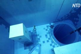 В Польше открыли самый глубокий в мире бассейн