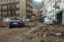 Наводнения в Сардинии: не менее троих погибших