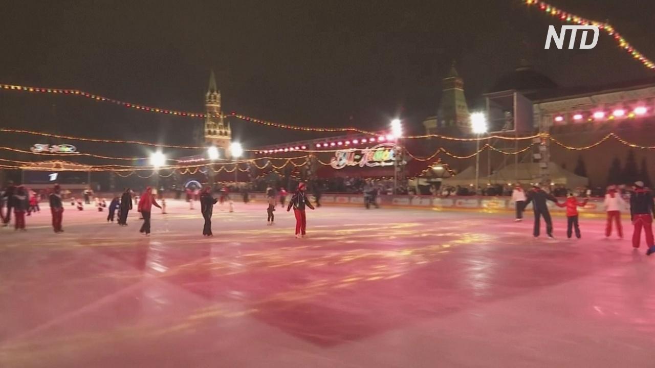 ГУМ-каток на Красной площади открылся красочным концертом