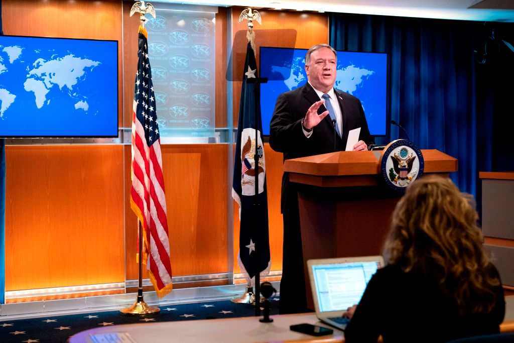 Госсекретарь США назвал компартию Китая угрозой мировой свободе номер один