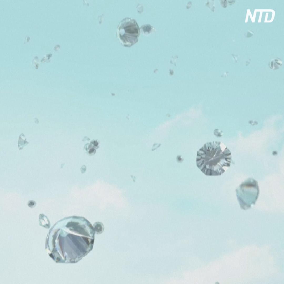 Возможно ли добывать алмазы из воздуха