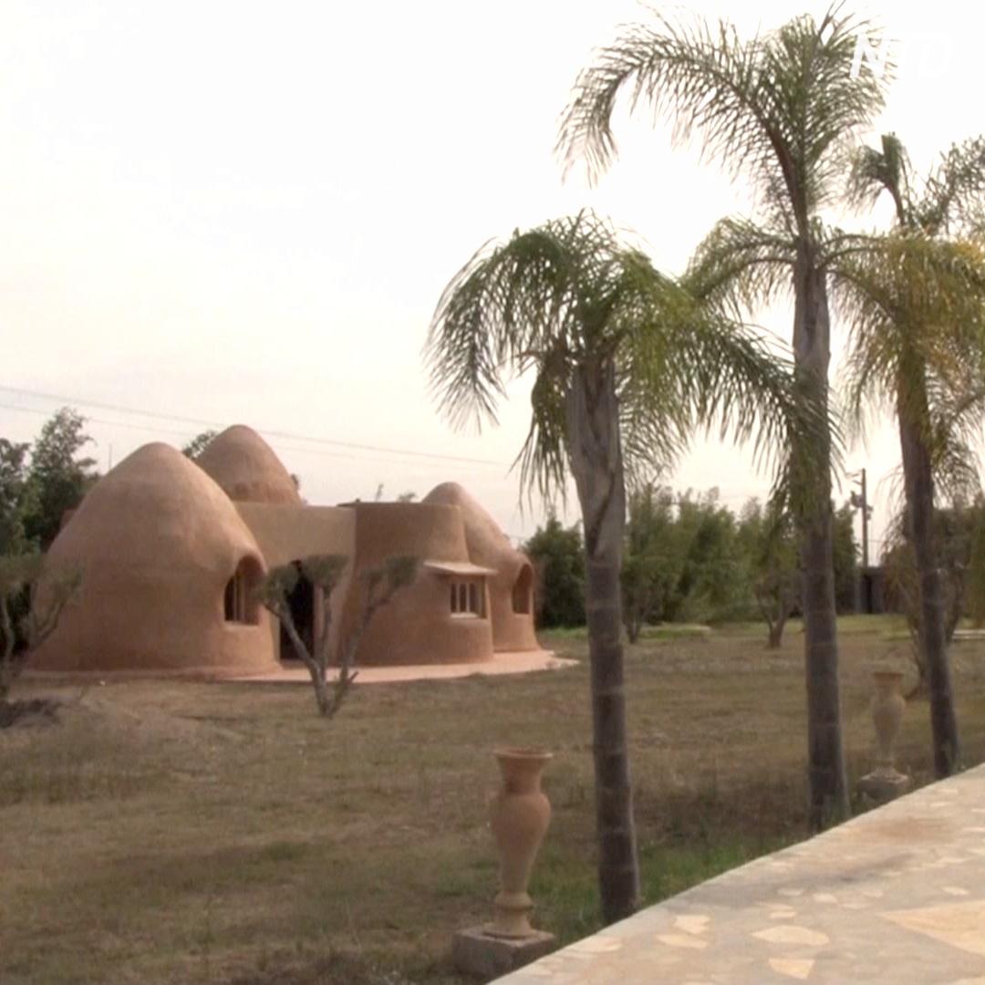 В Марокко появилась мода на дома из глины и соломы