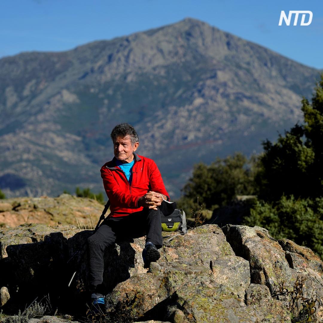 81-летний испанец готовится покорить Гималаи