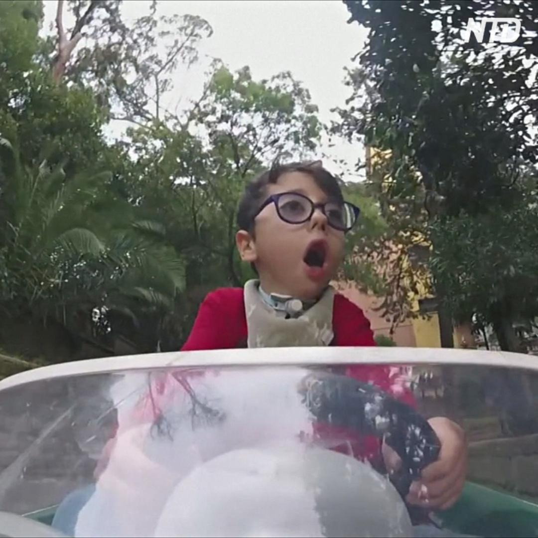 7-летний мальчик с ДЦП вдохновляет других своей жаждой к жизни