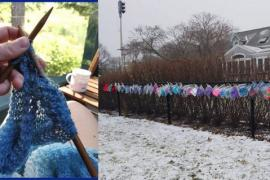 Зачем 87-летняя бабушка связала 75 шапок