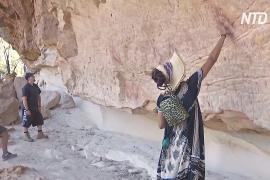 Тысячелетние наскальные рисунки в Австралии открыли для туристов