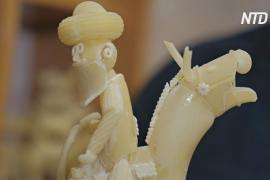 Рекламщик из Перми 15 лет создаёт скульптуры и модели машин из макарон