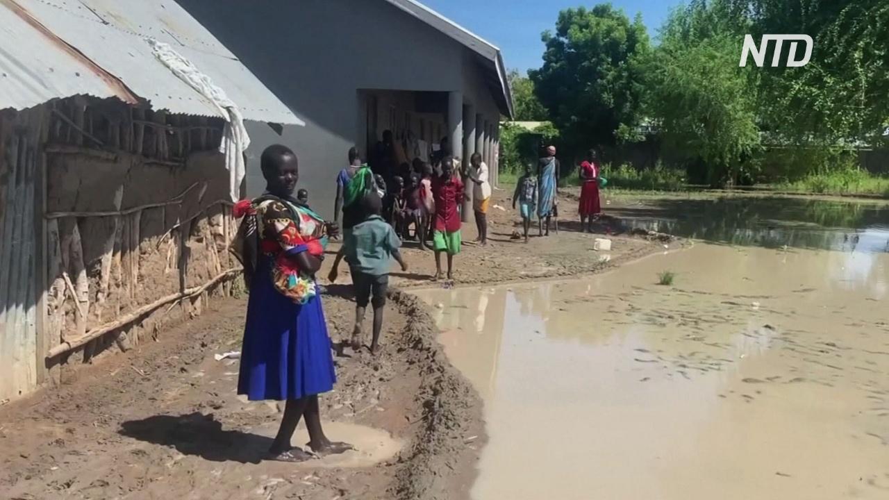 Южный Судан: пострадавшие от наводнений могут начать умирать от голода