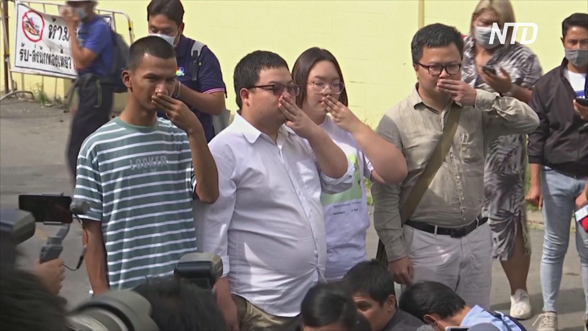 Лидерам протестов в Таиланде выдвинули обвинения в неуважении к монарху