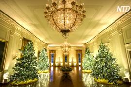 Белый дом представил рождественские декорации