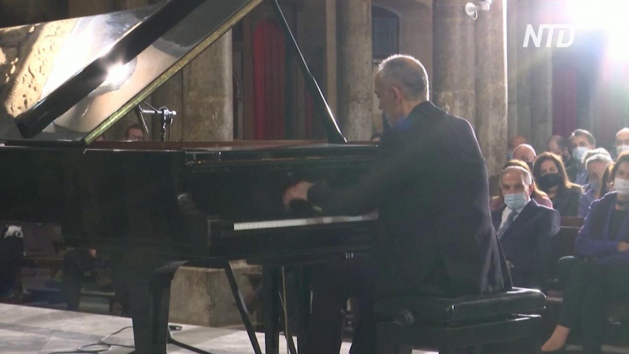 В церквях и на площадях Бейрута проходят концерты классической музыки