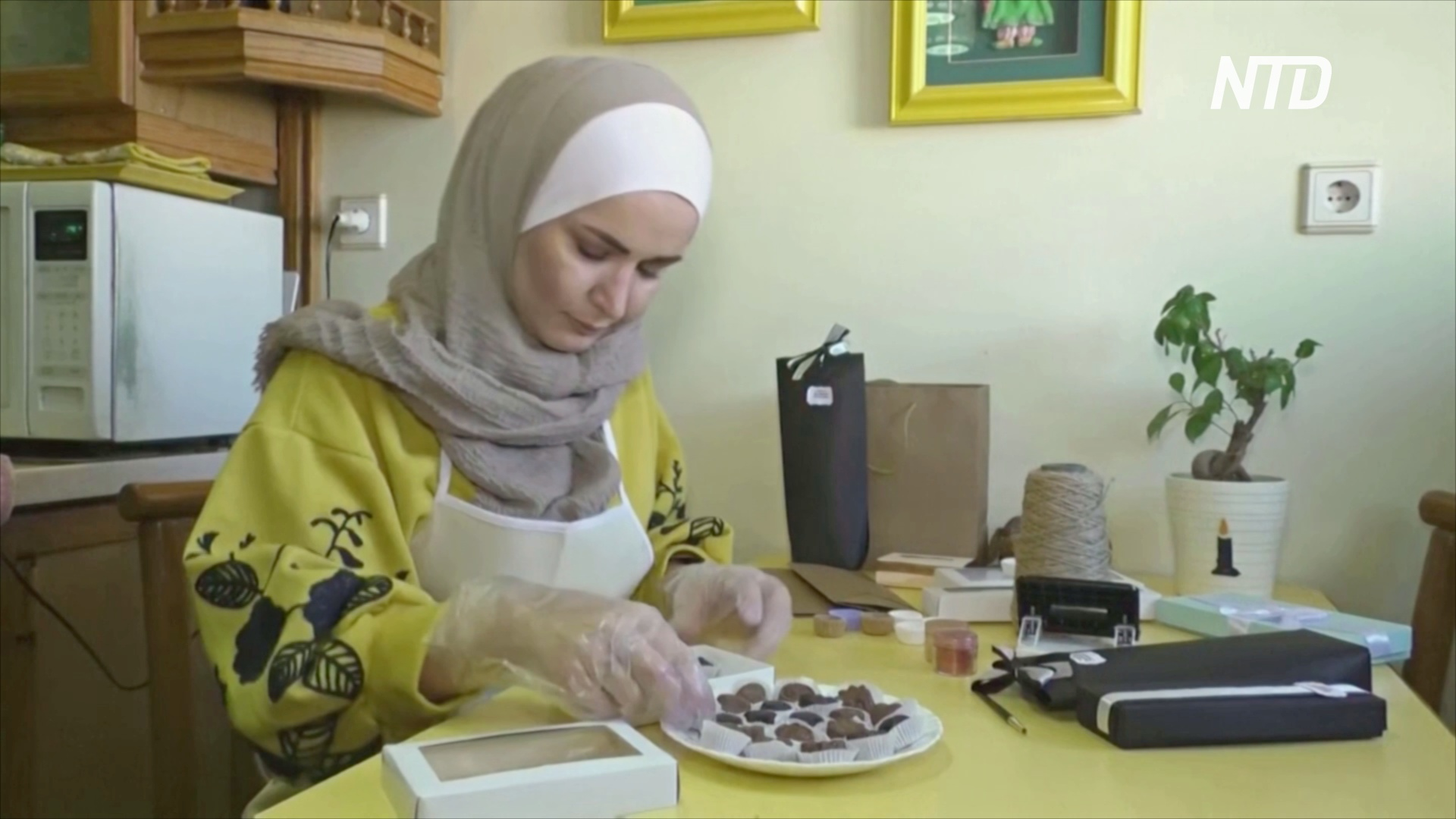 Сирийка сама научилась делать шоколад и мечтает о мировом признании