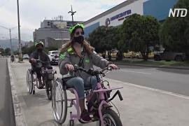 Экскурсии по городу на инвалидных велоколясках: новая услуга в Колумбии