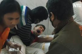 В Индии более 300 человек заразились мистической болезнью