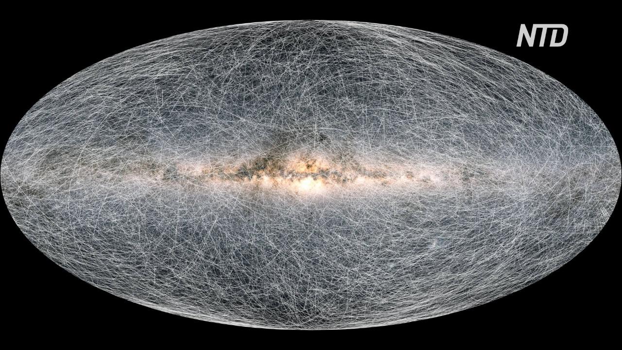 Самую детальную карту звёзд нашей галактики представили европейские астрономы
