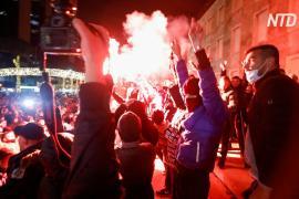 Полицейский застрелил нарушителя комендантского часа в Албании, начались протесты
