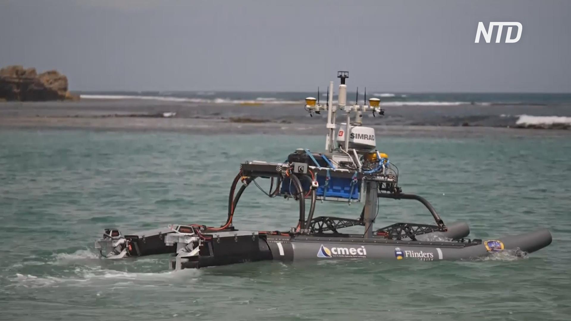 Робот-катамаран изучит рекордно быструю эрозию на юге Австралии