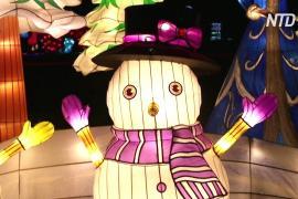 Масштабный фестиваль фонарей открылся в Таллине