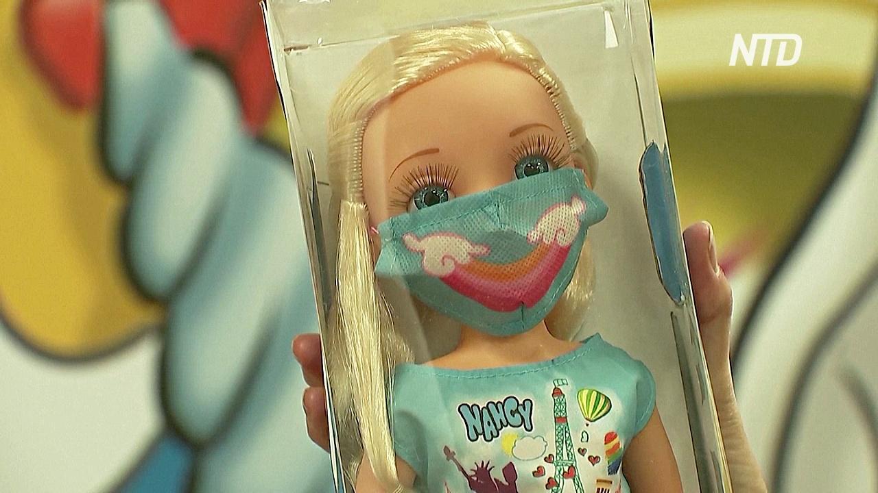 Куклы в маске и тесты на COVID для пупса: новые игрушки в Испании