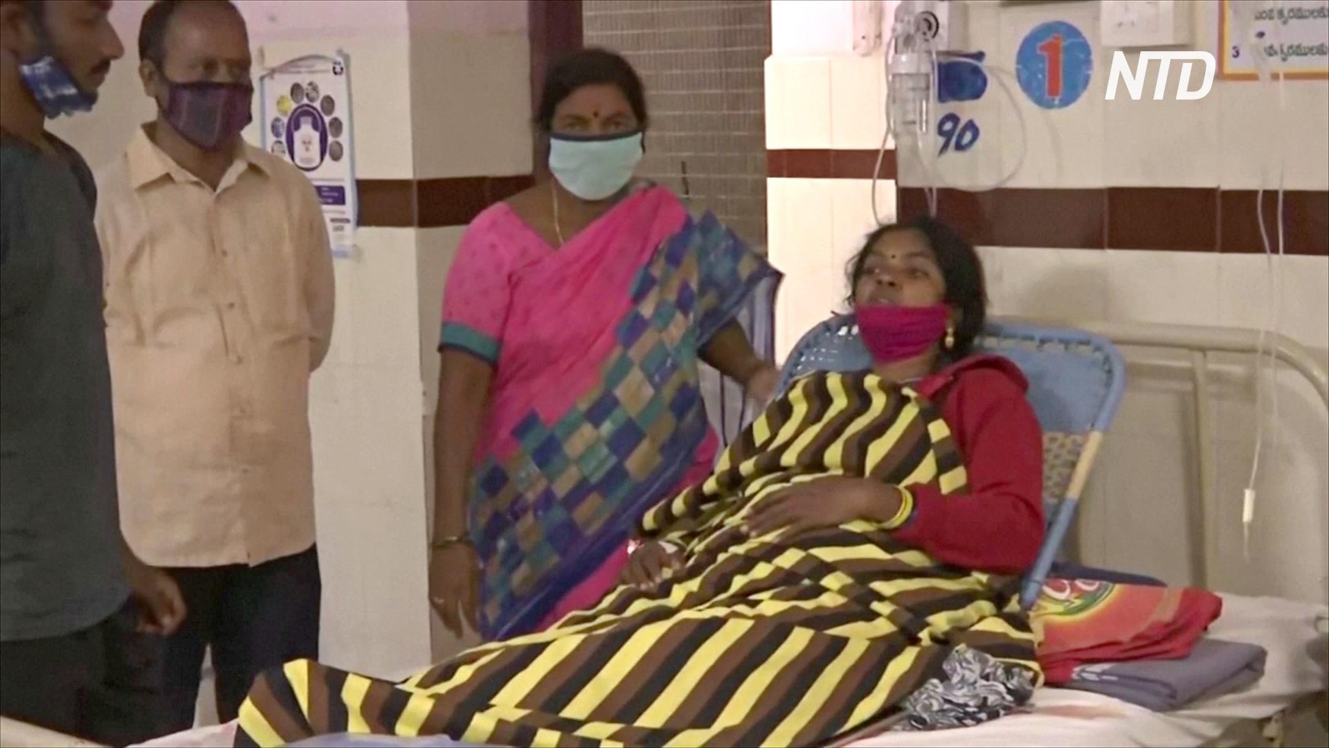 Загадочная болезнь в Индии: люди могли отравиться свинцом