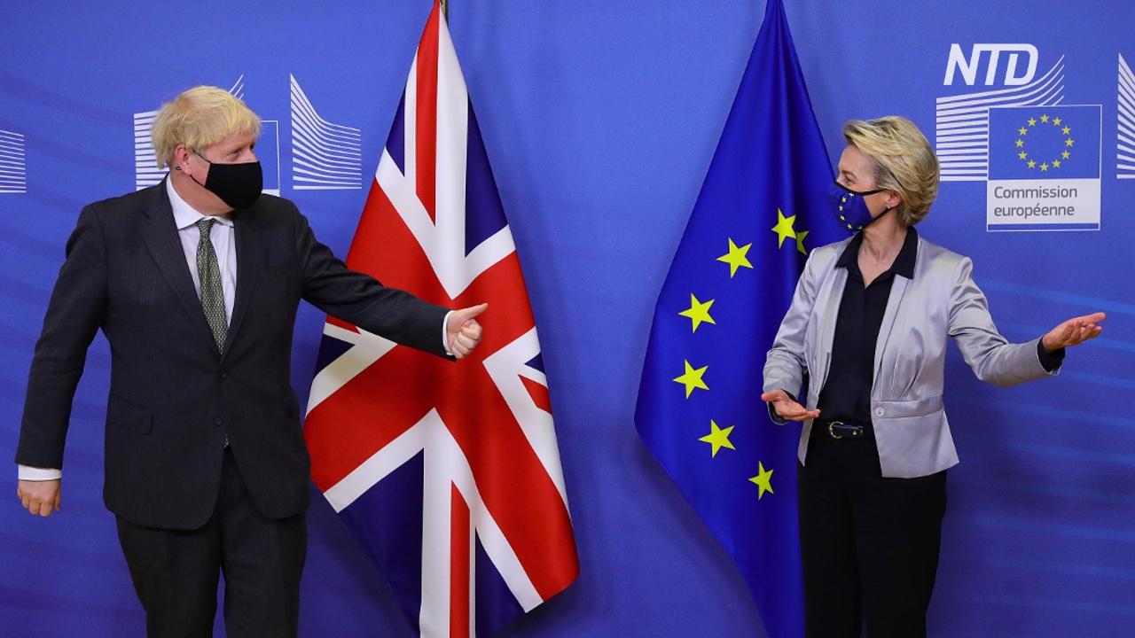 Премьер Великобритании: «Есть большая вероятность выхода без сделки»