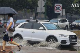 Вслед за пожарами на восток Австралии пришли наводнения