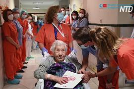 104-летняя испанка победила коронавирус, несмотря на возраст