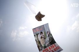 Южнокорейцам запретили отправлять пропагандистские листовки в КНДР