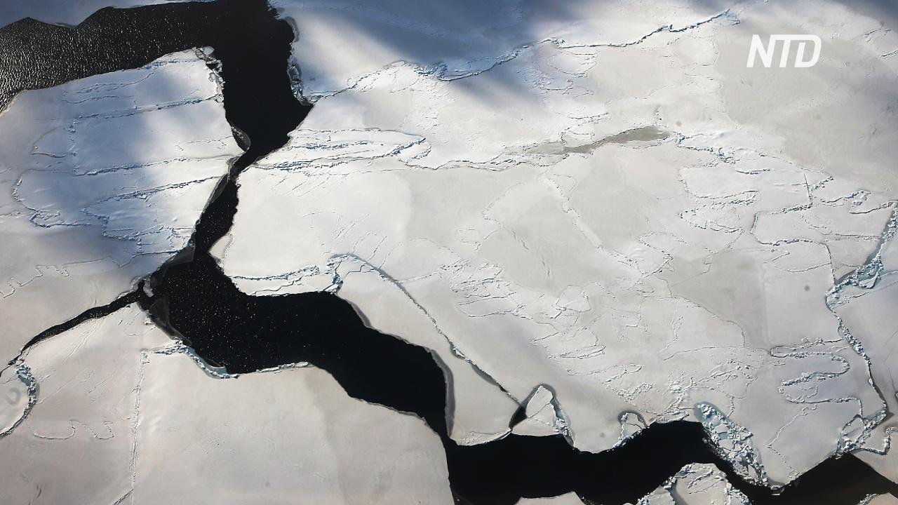 В Антарктике произошло более 30 000 землетрясений за 3 месяца