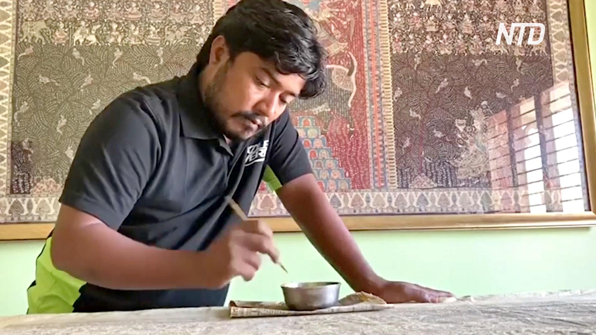 Онлайн-платформа помогает ремесленникам Индии выжить в карантин