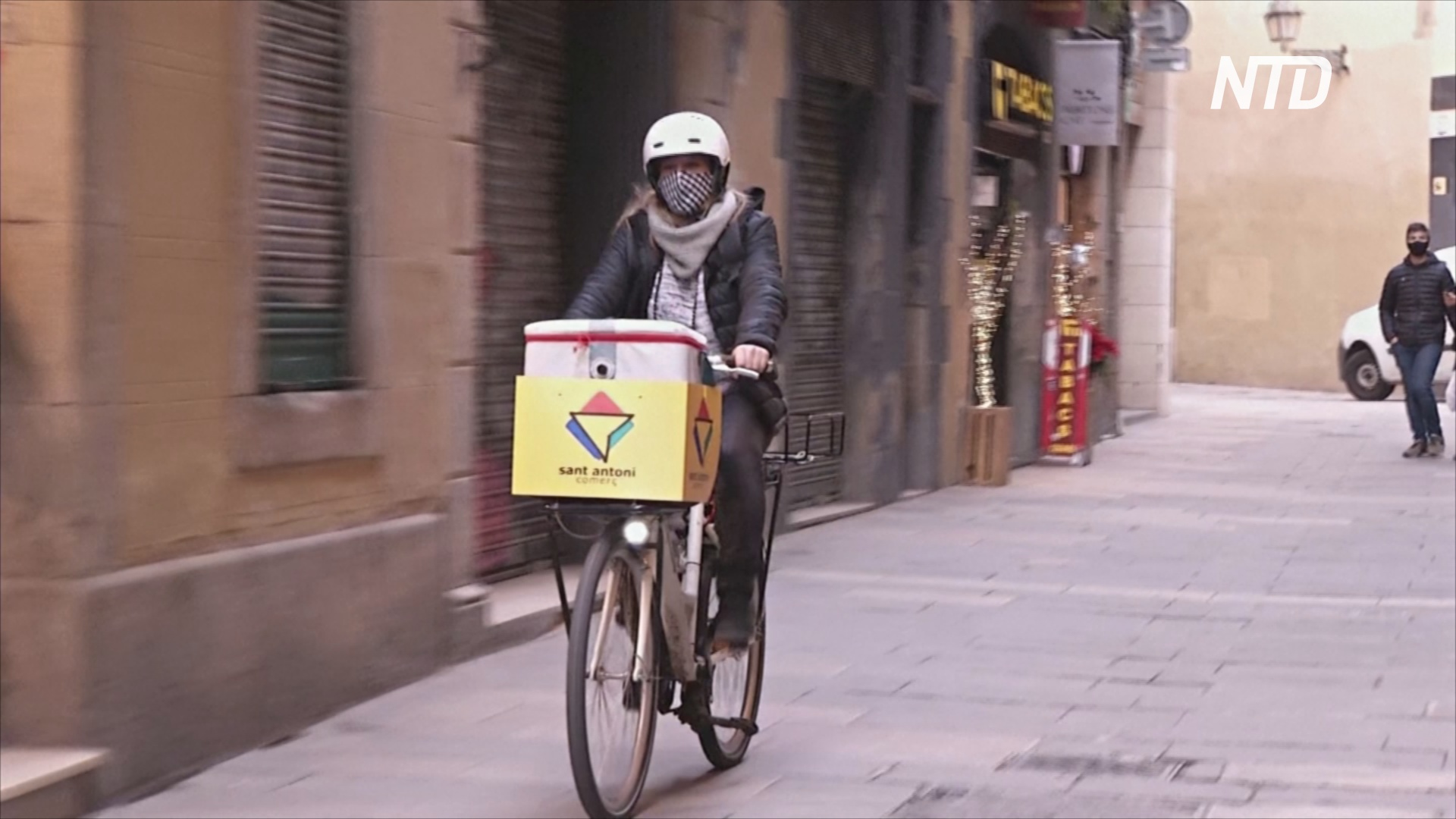 Компания по организации велотуров стала службой доставки
