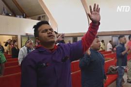 В американском городке началось духовное возрождение после крупной вспышки COVID