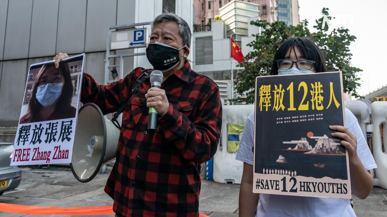Десятерых жителей Гонконга приговорили к тюрьме в Китае за побег на лодке