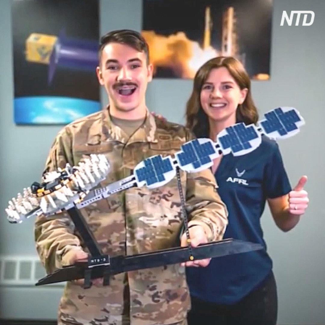 Инженер ВВС США построил навигационный спутник из кубиков Lego