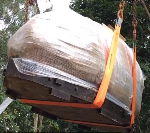 Novyj risunok 3 13 - Австралия: аметистовый жеод весом более 20 тонн привлекает туристов
