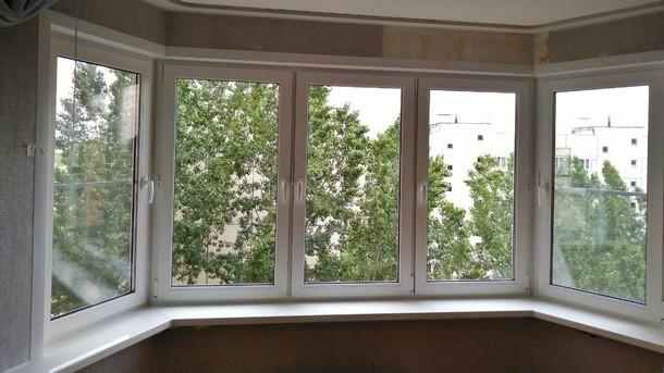 Недорогие пластиковые окна из оригинальных немецких профильных систем REHAU