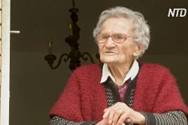 Три пандемии, две мировые войны, и по-прежнему улыбается: 109-летняя бабушка дарит надежду Италии