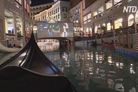 На Филиппинах открылся «карантинный» кинотеатр для зрителей на гондолах
