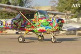 От шоссе к небу: пакистанский художник вместо грузовиков расписывает самолёты
